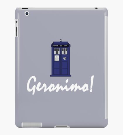 """Geronimo!"" iPad Case/Skin"