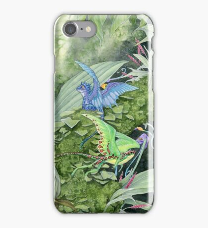 Dwarf dragons iPhone Case/Skin