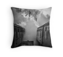 And in a puff of smoke, they went into history Throw Pillow