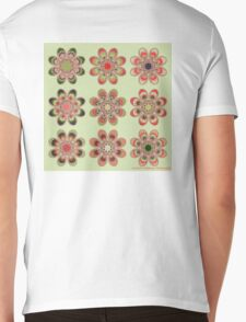 Watermelon Foot Flowers Mens V-Neck T-Shirt