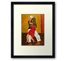 They danced all night.... Framed Print