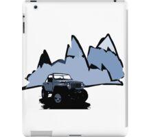 Jeeping It!: BLUE iPad Case/Skin