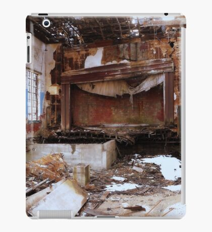 Show Is Over Due To Cockeyed Perspective iPad Case/Skin