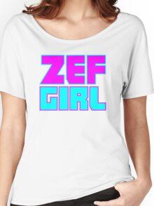 ZEF GIRL Women's Relaxed Fit T-Shirt