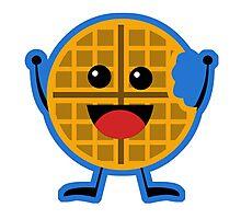 Toasty Waffle Photographic Print