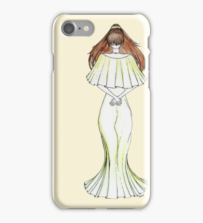 Flower Girl : Lily iPhone Case/Skin