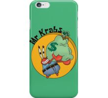 Did you know crabs love money! iPhone Case/Skin