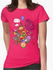 Crazy head Womens Fitted T-Shirt
