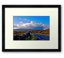 The Road to Whernside Framed Print