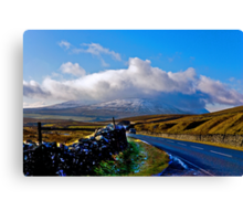 The Road to Whernside Canvas Print