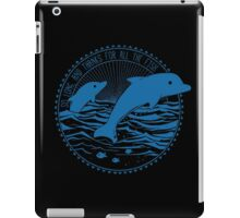 Message from Dolphins iPad Case/Skin