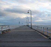 Hobson's Bay Pier by Greg Wilson