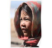 A young nomad of the Himalaya Poster