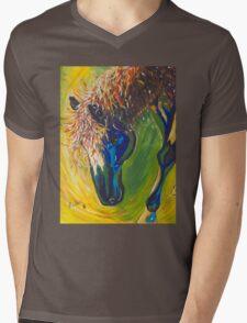 Painted Pony Mens V-Neck T-Shirt