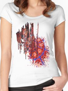 Spiral Crash Women's Fitted Scoop T-Shirt