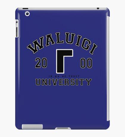 Waluigi University iPad Case/Skin