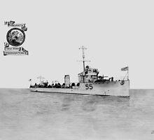 HMAS Parramatta (1) by Darren McAliece