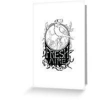 Fresh Aire - White Greeting Card