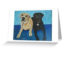 Daisy and Cocoa Greeting Card