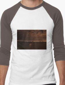 night crossing Men's Baseball ¾ T-Shirt