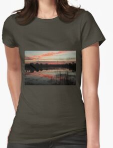 winter morning Womens Fitted T-Shirt