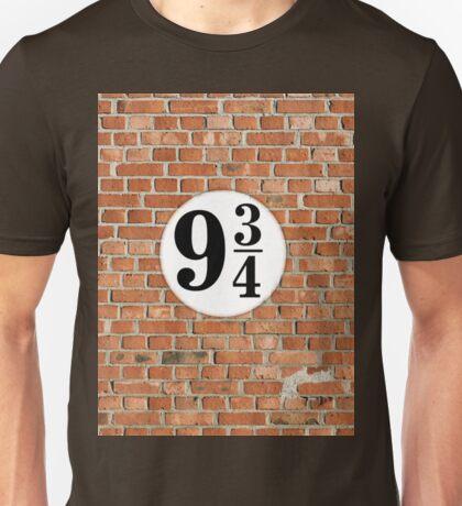 9 3/4 - Brick Unisex T-Shirt