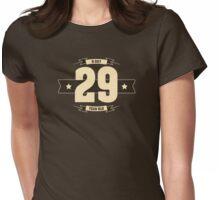 B-day 29 (Cream&Choco) Womens Fitted T-Shirt