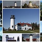 Lighthouses of Cape Cod USA by AnnDixon