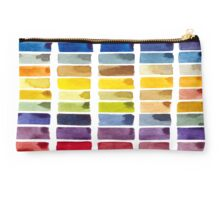 Color Block Studio Pouch