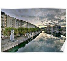 Geneva Morning HDR 10 Poster