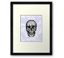 Shattered Skull Framed Print