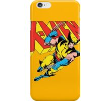 Wolverine Retro Comic X-Men iPhone Case/Skin