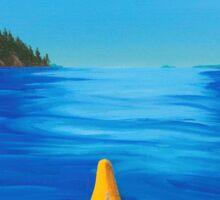 Kayak Series #2: Two Sisters Sticker