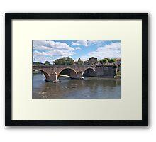 River Garonne Framed Print