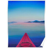 Kayak Series #1: Comox Poster