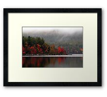 September Fog Framed Print