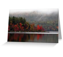 September Fog Greeting Card