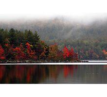 September Fog Photographic Print