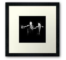 FBI Fiction Framed Print