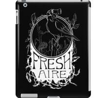 Fresh Aire - Black iPad Case/Skin