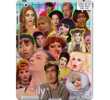Rpdr Funny queen faces  iPad Case/Skin