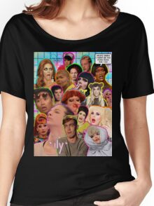 Rpdr Funny queen faces  Women's Relaxed Fit T-Shirt
