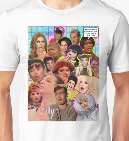 Rpdr Funny queen faces  Unisex T-Shirt