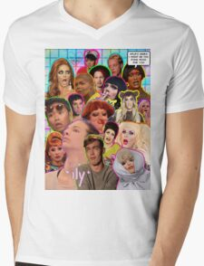 Rpdr Funny queen faces  Mens V-Neck T-Shirt