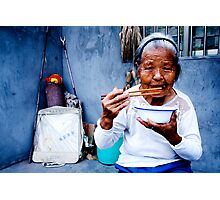 Wrinkled Chopsticks Photographic Print