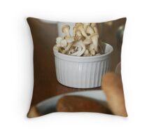 mushrooms_mix Throw Pillow