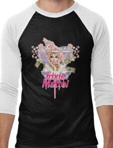 Trixie Mattel <3 Men's Baseball ¾ T-Shirt