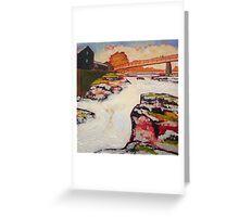 Autumn at Linton Falls, Yorkshire Dales Greeting Card