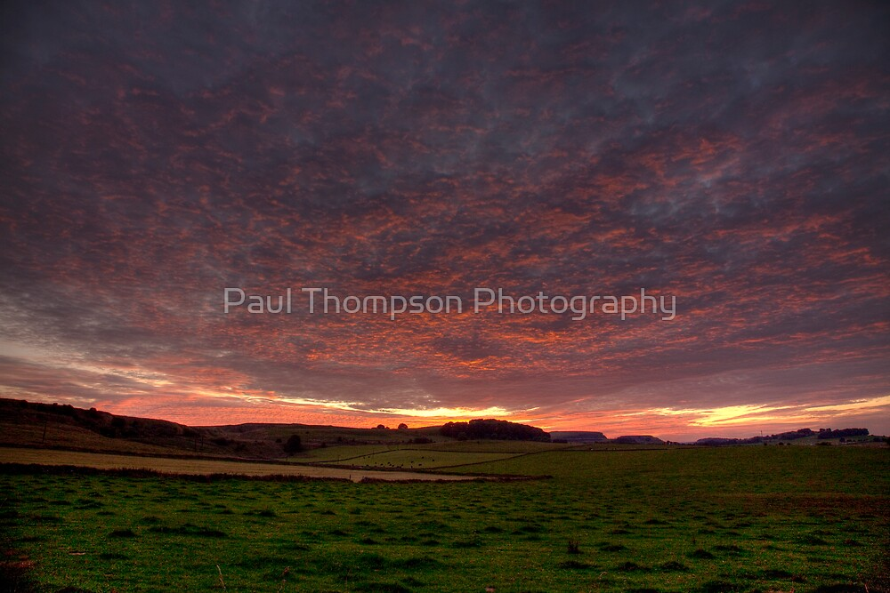 Peak District Sunset by Paul Thompson Photography
