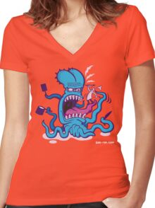 Extreme Cooking Women's Fitted V-Neck T-Shirt